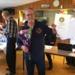 Leif Anderberg fick förardiplom