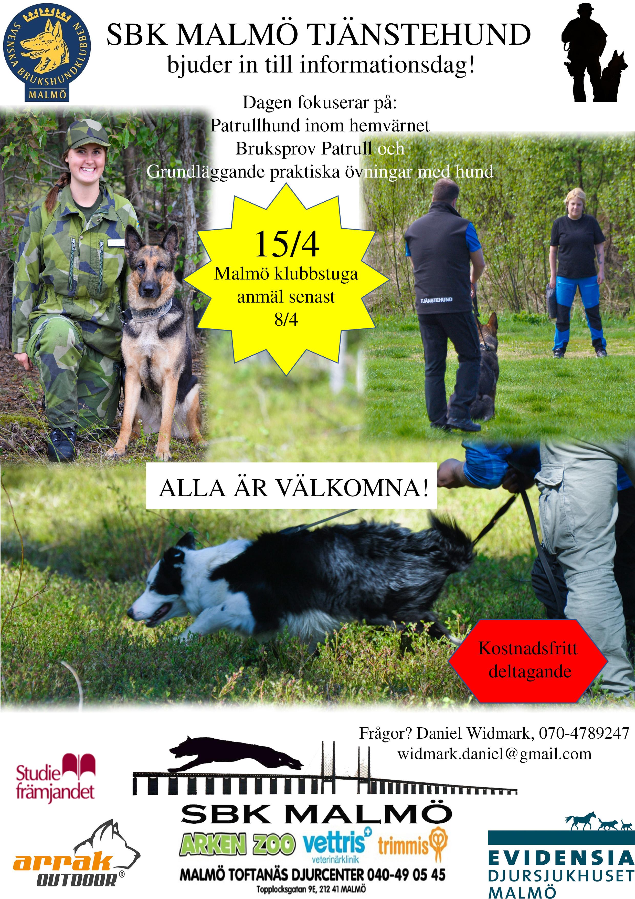 SBK Malmö informationsdag påminnelse
